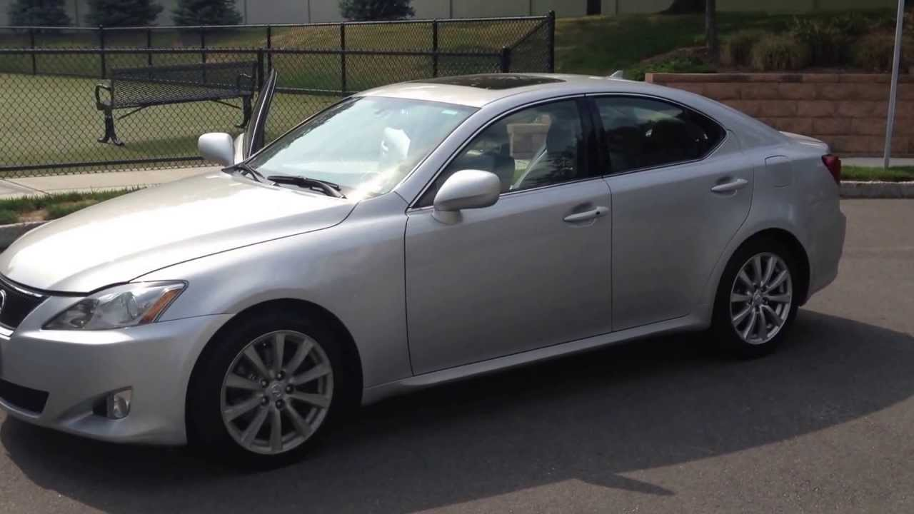 2007 Lexus IS250 ( RARE 6 Speed Manual Transmission ) For SALE   YouTube