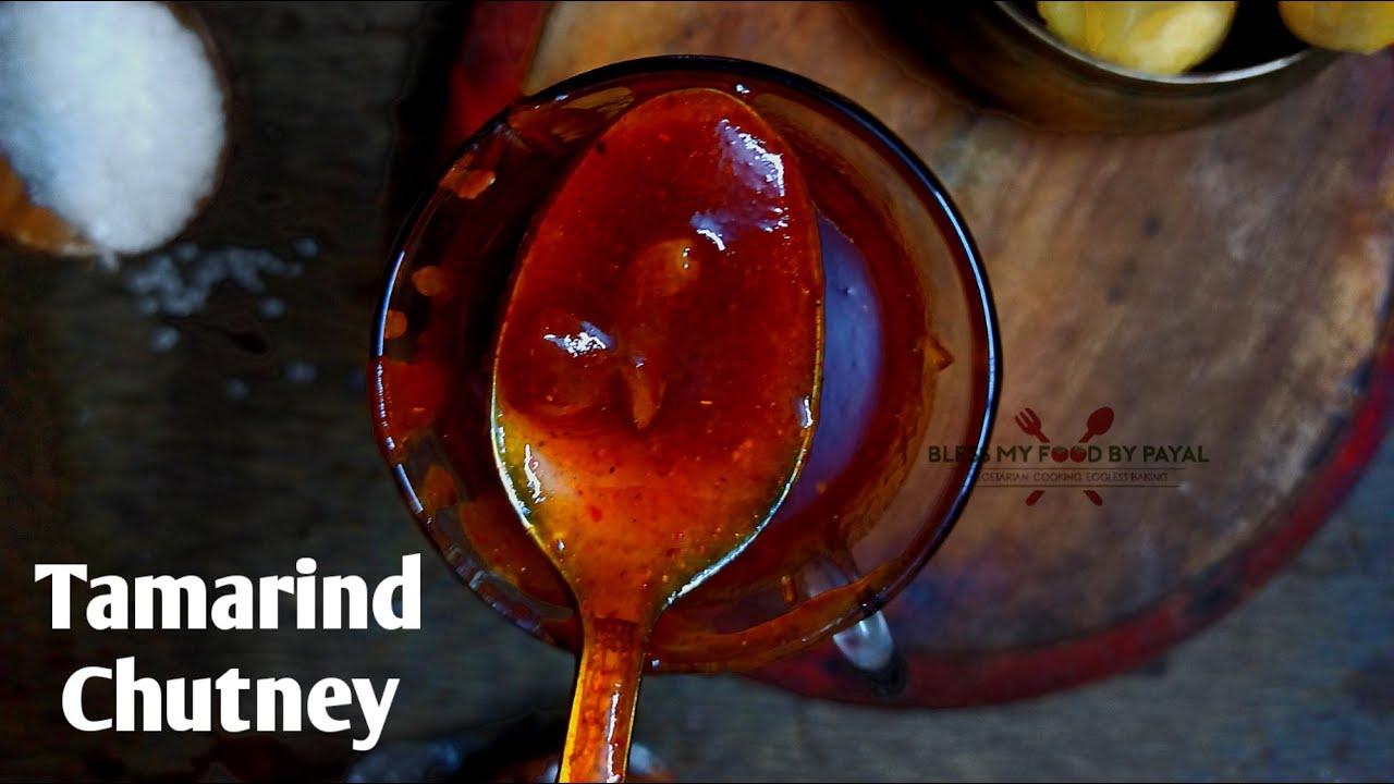 Tamarind chutney recipe   imli ki chutney   sweet and sour ...