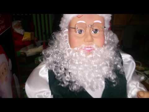Gemmy 1998 - 1999 Hip Swinging Santa (Early Series)