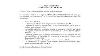 Lec001 Práctica Rendimientos del Trabajo IRPF (umh1429sp 2015-16)