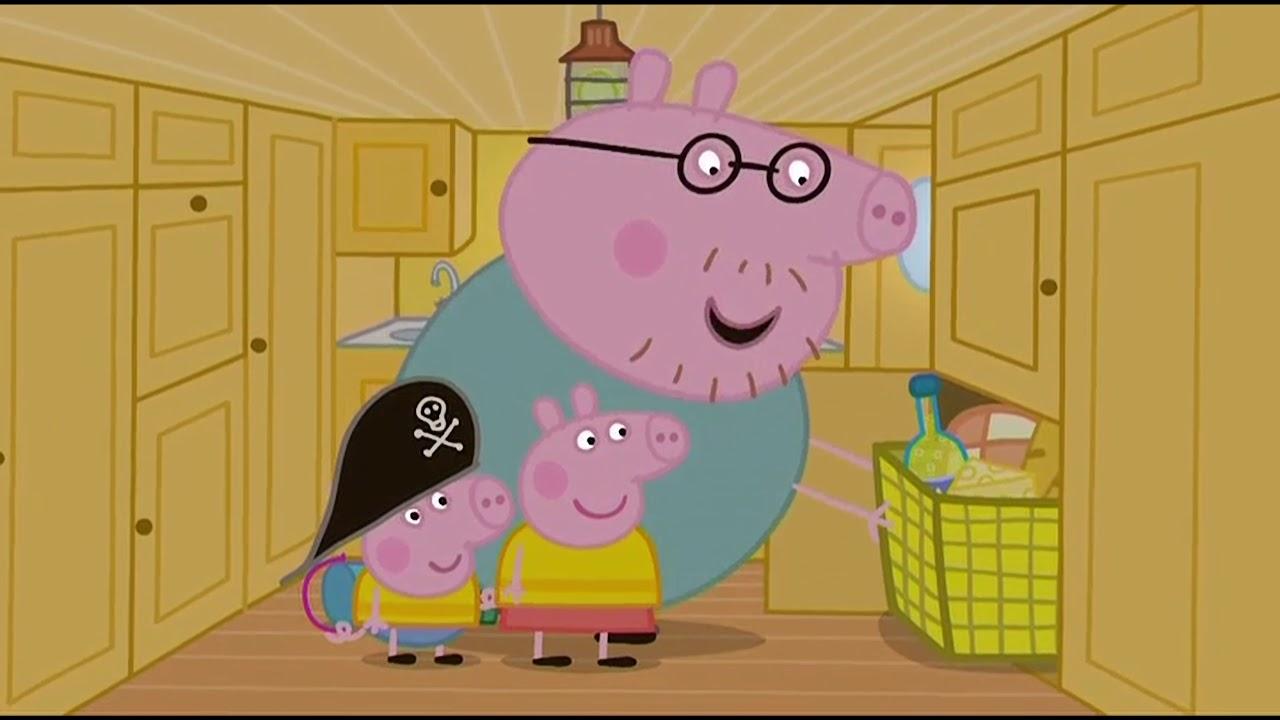 Prasátko Peppa S02e46 Tatínek Kapitánem Captain Daddy Pig Cz 4k Ultra Hd