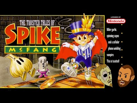 The Twisted Tales of Spike McFang - No Strategy Guide