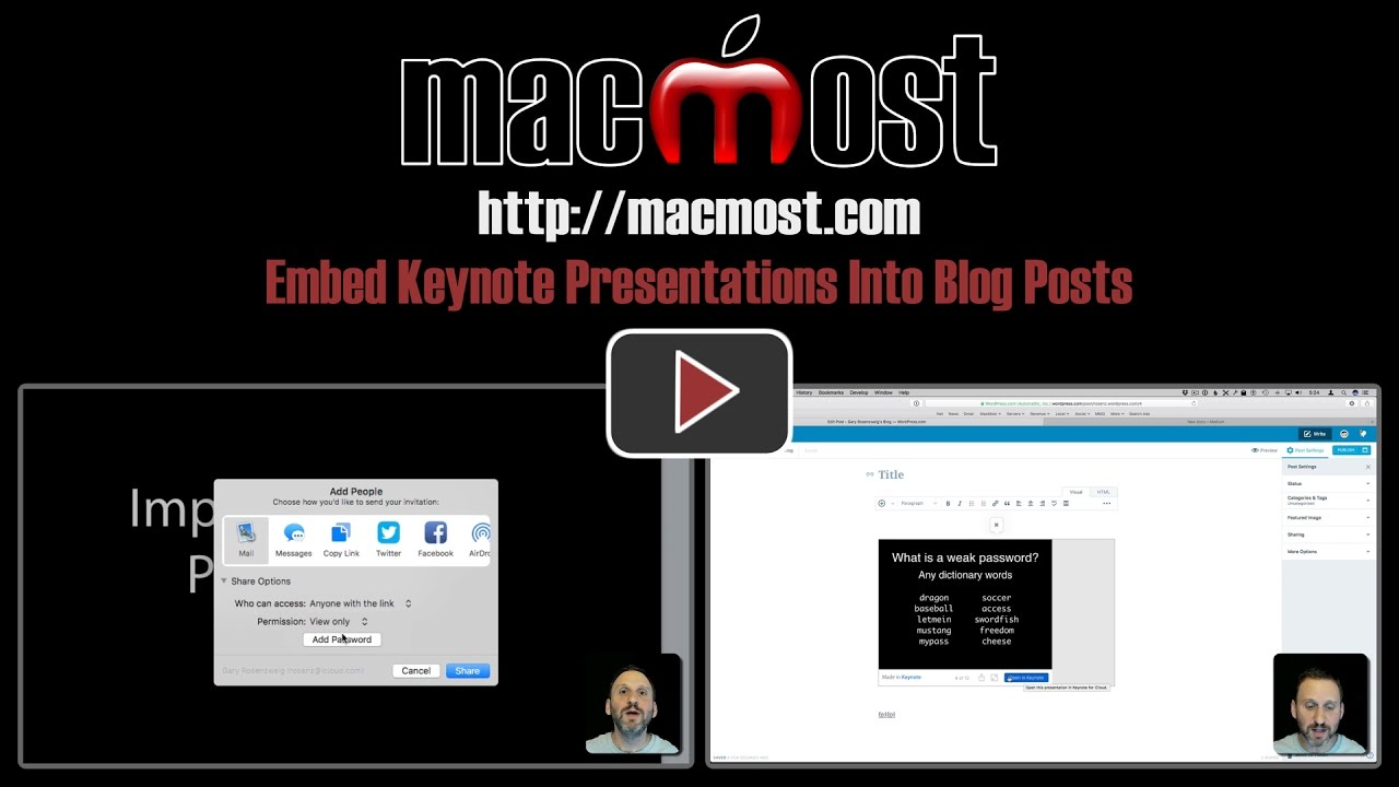 Embed Keynote Presentations Into Blog Posts (#1381)