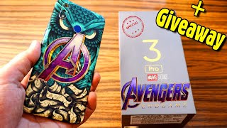 Realme 3 Pro Converted to Avengers Special Edition just Back skins