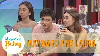 Magandang Buhay: Laura describes how Maymay and Edward treat each other on and off cam