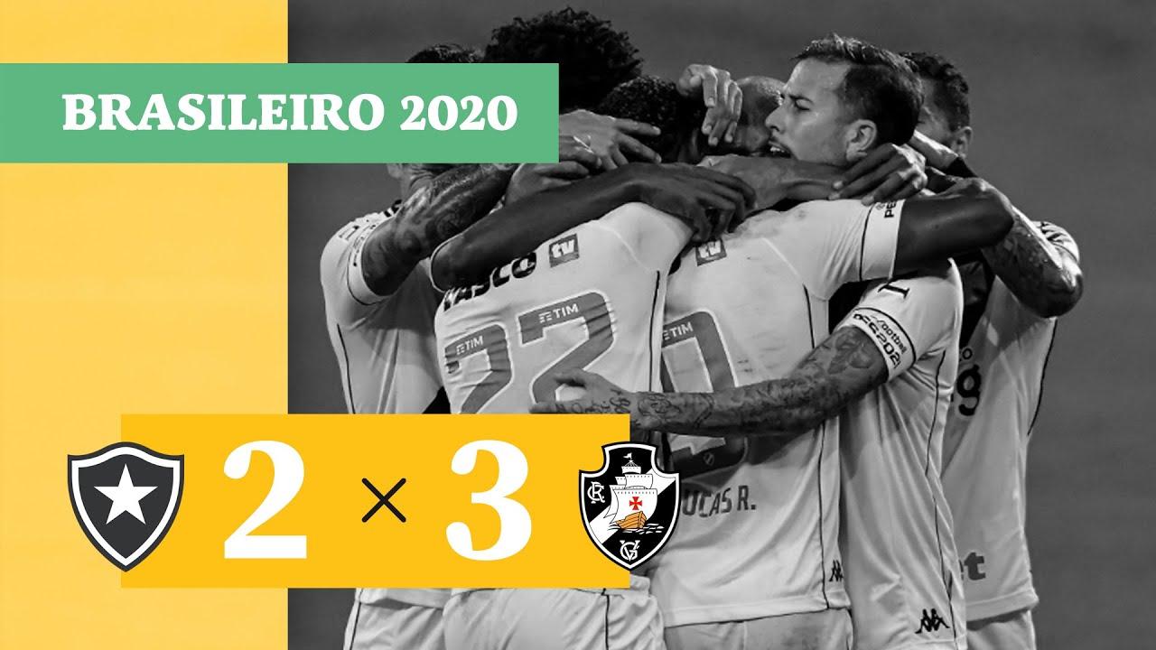 Ботафого  2-3  Васко да Гама видео