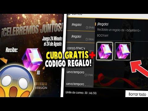 🔴ESPERANDO!! CUBO MAGICO *GRATIS* Y CODIGO DE REGALO EN FREE FIRE!