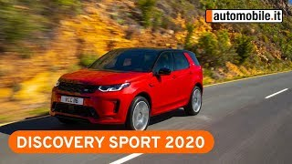 Nuova Land Rover Discovery Sport 2020