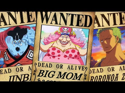 One Piece Bounties After Whole Cake Island Arc - Chapter 891+