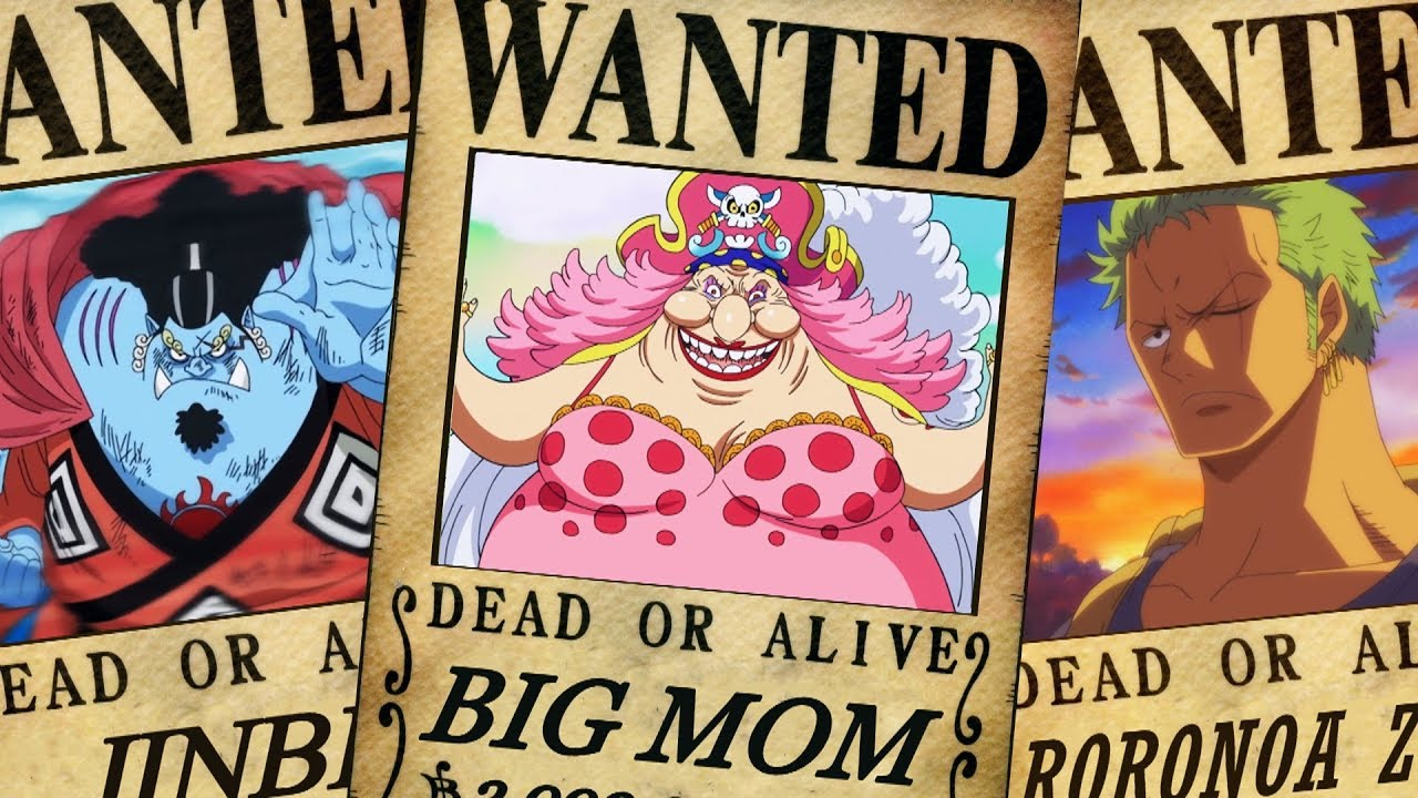One Piece Wanted Posters After Cake Island Arc