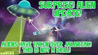 Aliens !!! Roblox Jailbreak