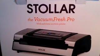 Вакууматор Stollar BVS700 + Мельнички для соли и перца / Обзор /Вакуумная упаковка продуктов
