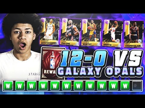 SWEATIEST GAME OF MY LIFE! 12-0 CHAMPIONSHIP GAME AGAINST A FULL GALAXY OPAL TEAM! NBA 2K19 MYTEAM