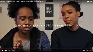 HOW TO APPLY FOR A YEAR ABROAD // FINANCE, VISAS & MORE