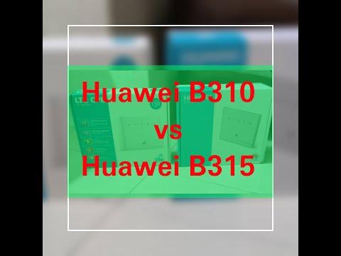 Huawei B310 Vs