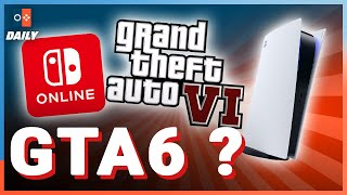 GTA 6 PAS REPOUSSÉ / UNE UPDATE POUR LA PS5 / DU BAD BUZZ POUR NINTENDO  - JVCom Daily