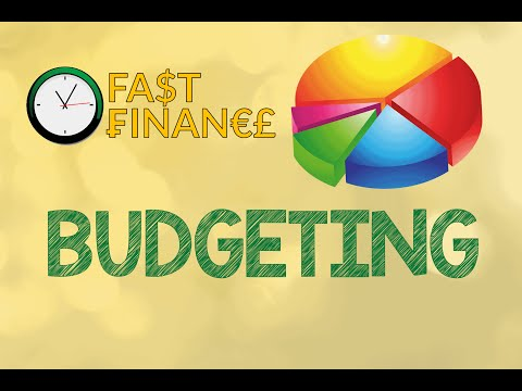 Basic Guide to Personal Finance – Part 3 – Budgeting