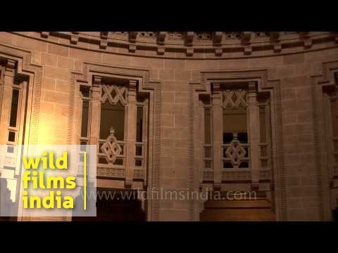 Royal interior of Umaid Bhawan Palace: Jodhpur