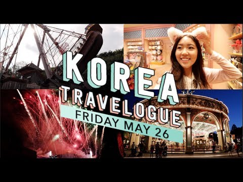 Seoul, Korea Vlog Day 6: EVERLAND FIREWORKS! Funtastic Korea Tour | thatxxRin