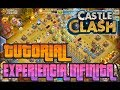 |CASTLE CLASH| TUTORIAL EXPERIENCIA FACIL