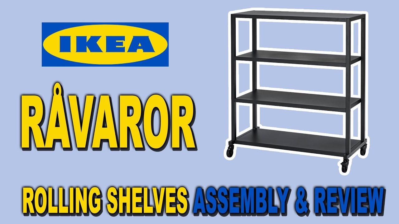 ikea ivar shelf assembly and review