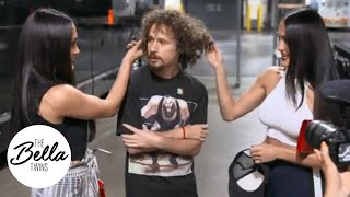 YouTube star LUISITO COMUNICA asks Brie and Nikki how to become a wrestler!