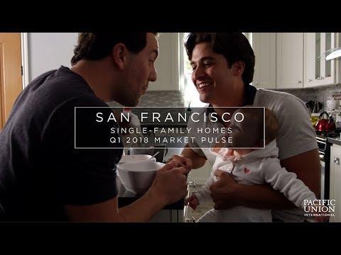 San Francisco, Single-Family Homes: Pacific Union Market Pulse Q1 2018