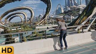 Сказочный город будущего. Земля будущего.