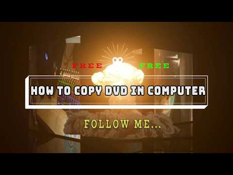 How to copy DVD to Computer FREE