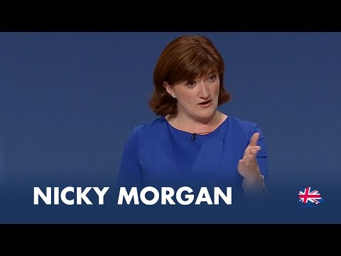 Nicky Morgan: Speech to Conservative Party Conference 2014