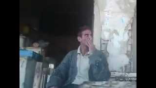 عراقي عصبي يفشر على الشرطي - تحشيش 2012