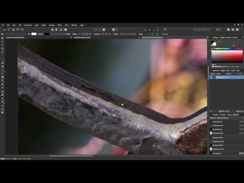 Affinity Photo - How to Use the Pen Tool to Make selections and Composite Images