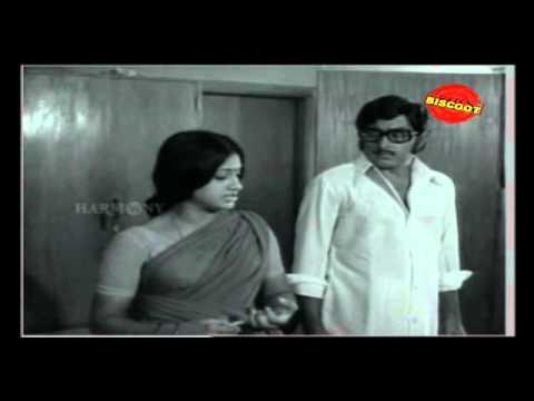 Avalude Raavukal Malayalam Movie Scene soman and seema