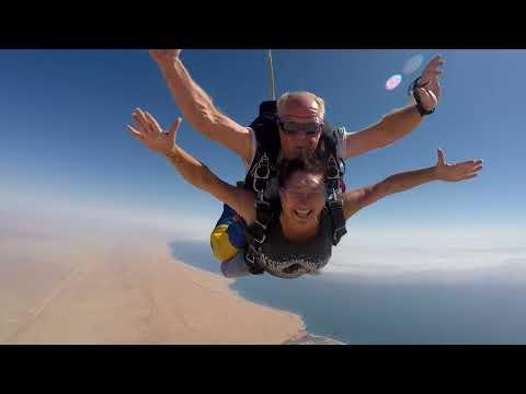Skydive4Fun Namibia Swakopmund - Cara Kruger