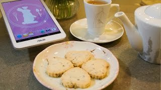 Baking With The Asus Memo Pad - Recipe For Lavender Cookies