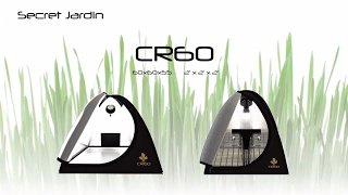 How to set up Secret Jardin grow tent CR60 | Product Tutorial