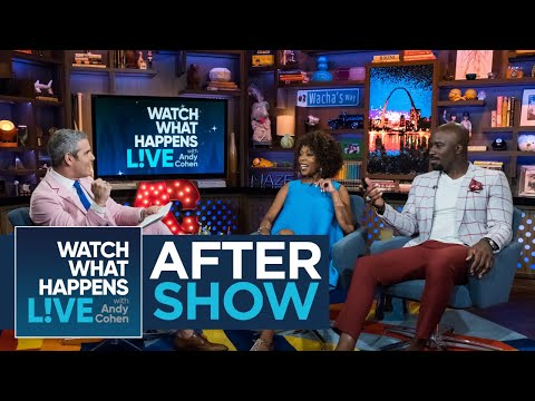 After : Mike Colter's Steamy s On 'Jessica Jones'  WWHL