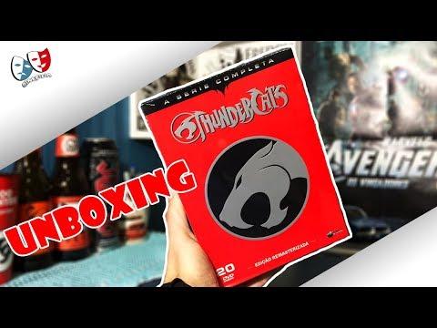 [Unboxing] Thundercats - Coleção Completa 20 DVDs + Sorteio