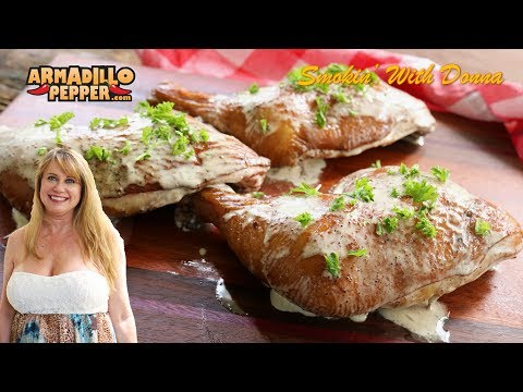 GIVEAWAY & Sweet Tea Brined Chicken Quarters with Alabama White Sauce | Masterbuilt Smoker