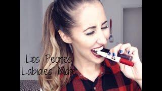 Los Peores Labiales Mate  de Larga Duración | Maybelline & Makeup Revolution