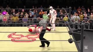 WWE 2K16 El Senor vs Aero Star
