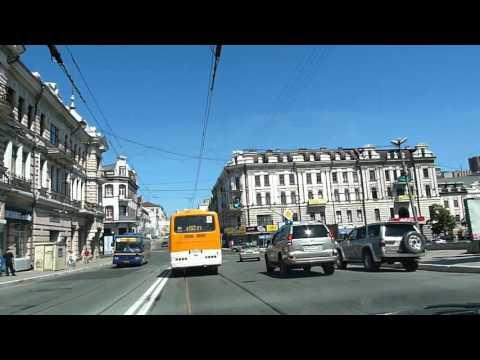 Владивосток. Проезд с мыса Эгершельд до ул. Нерчинской 2011 год Vladivostok