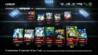 Madden 15 Ultimate Team :: 98 Overall Team! Hit Power Squad! ::-XBOX ONE Madden 15 Ultimate Team