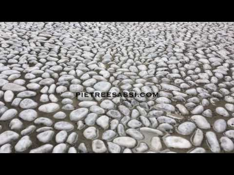 Pietreesassi Pavimentazione Con Ciottoli E Cubetti Di