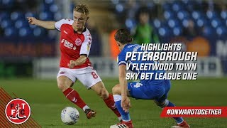 Peterborough United 1-0 Fleetwood Town | Highlights