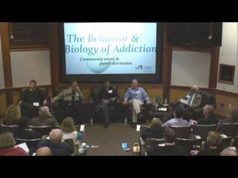 The Behavior & Biology of Addiction