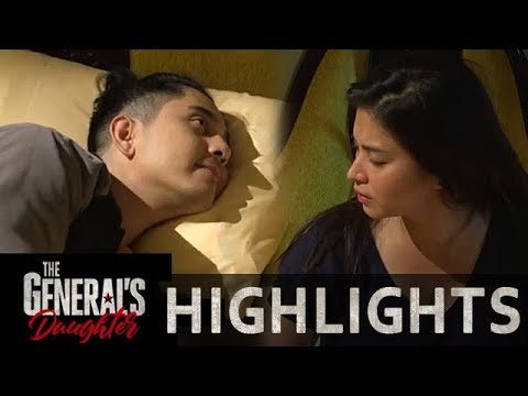 Franco tries to sleep with Rhian | The General's Daughter (With Eng Subs)