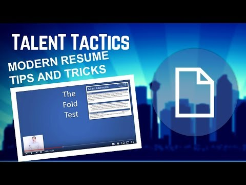 How To Write A Resume Top 10 Tips And Tricks Job Search & Cover Letters