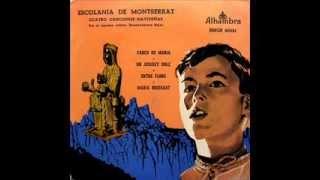 Escolania De Montserrat - Cuatro Canciones Navideñas - EP 1958