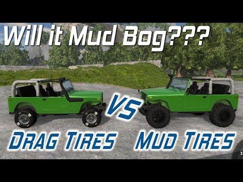 BeamNG.drive - Will it Mud Bog? - Drag...